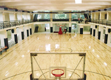 Indoor and Outdoor Basketball Courts
