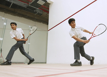 Squash Court (created and maintained by SMSF)